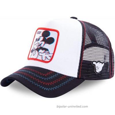 Tounuta Anime Cartoon Baseball Cap Men Women Hip Hop Dad Mesh Hat Baseball Hat for Outdoor Sports Decoration Style-5 at  Men's Clothing store