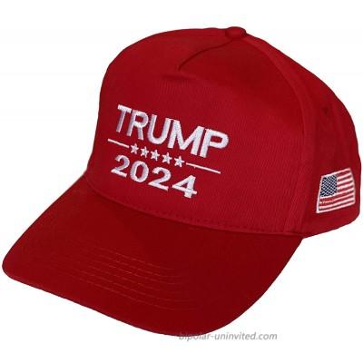 Trump 2024 MAGA Red Snapback Baseball Cap Adjustable Dad Hat Trucker Baseball Cap Hat at  Men's Clothing store