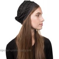 Landana Headscarves 3 Seam Denim Hat Ladies Chemo Hat Cancer Cap - Black at  Women's Clothing store