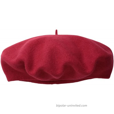 Scala Women's Wool Beret Red One Size at  Women's Clothing store Children Berets