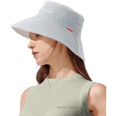 CAMOLAND Unisex Adjustable Bucket Hat with Strings Trendy Travel Beach Sun Hat Packable Lightweight Outdoor Cap