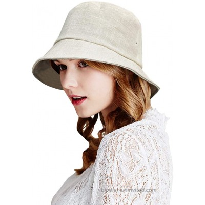 DOCILA Plain Organic Bucket Hat for Women Breathable Purecolor Outdoor Sunshade Hats Packable Travel Head Hair Cover Wraps for Coat Sweater Boots Chapeau Femme Cadeau Beige at  Women's Clothing store