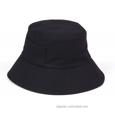 Lack of Color Women's Wave Cotton Canvas Bucket Hat Black Small Medium at  Women's Clothing store