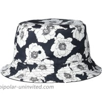 Steve Madden Women's Twill Floral Bucket Hat Black One Size at  Women's Clothing store