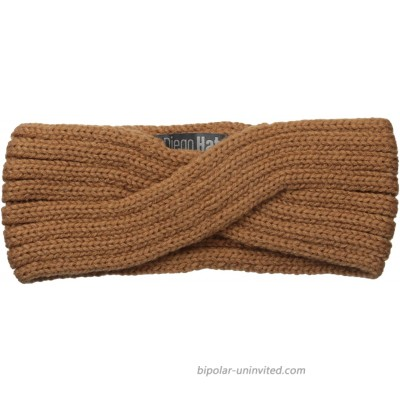 San Diego Hat Company Women's Overlap Knit Headband Camel One Size at  Women's Clothing store