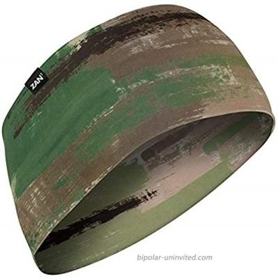 ZANheadgear unisex-adult Headband Elastane Multi Brushed Camo Multicolor One Size